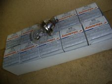 12 volt. 60/55w. Box of 10.Halogen headlamp.